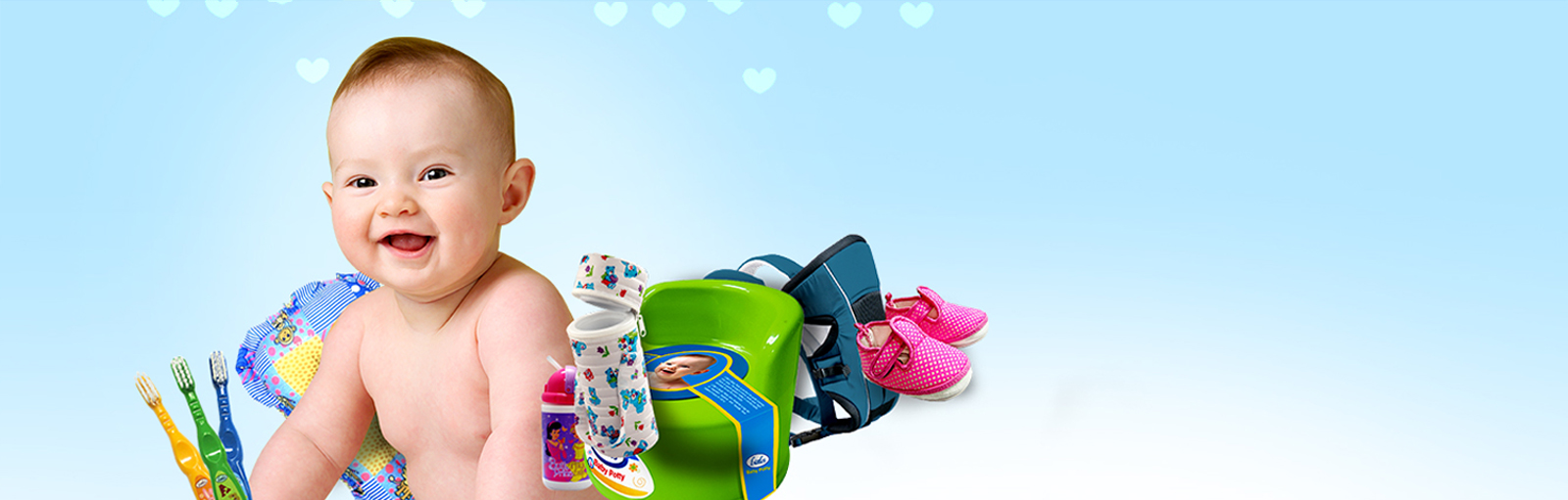 Our Range of World Class Baby Care Products