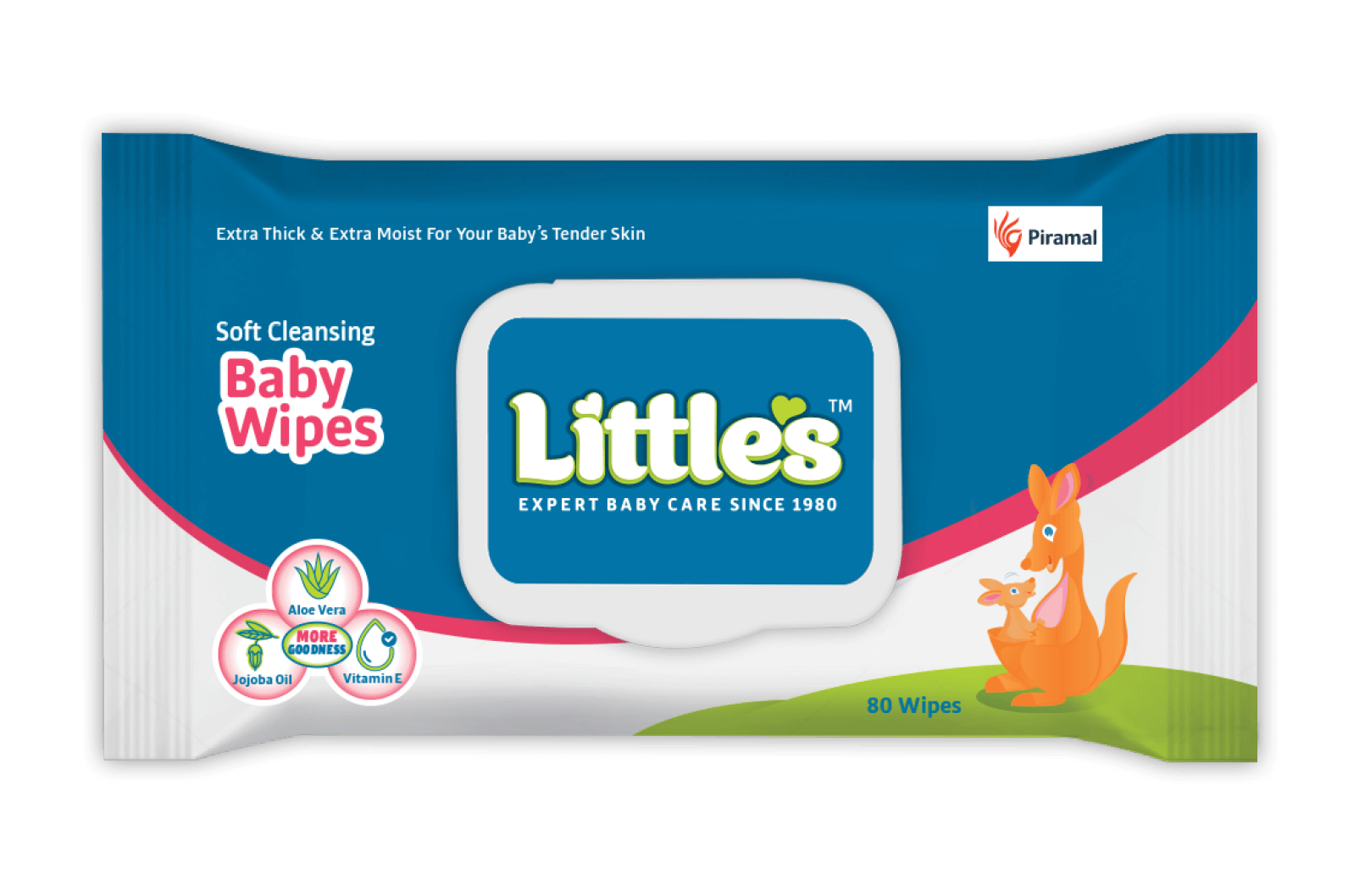 Soft Cleansing Baby Wipes